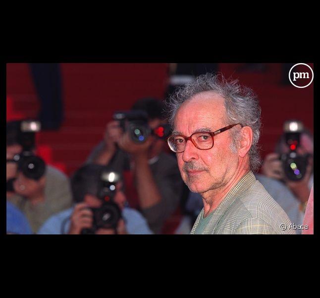 Jean-Luc Godard au Festival de Cannes en 2001