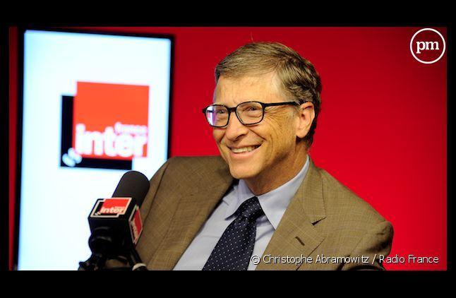 Bill Gates en pleine tounée médiatique