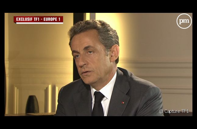 Nicolas Sarkozy, mercredi, au 20 Heures de TF1.