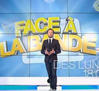 Jérémy Michalak présente 'Face à la bande' sur France 2