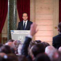 Conférence de presse de François Hollande : objectif record d'audience