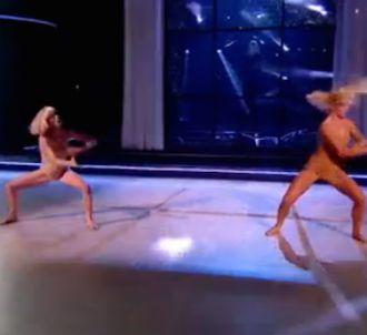 Sia chante de dos dans 'Danse avec les stars'