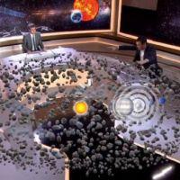La sonde spatiale Rosetta superstar des médias français