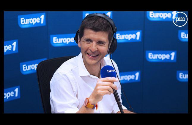 Thomas Sotto, anchorman de la matinale d'Europe 1.