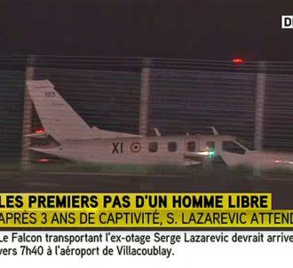 Bruce Toussaint annonce en avance l'arrivée de l'avion de...
