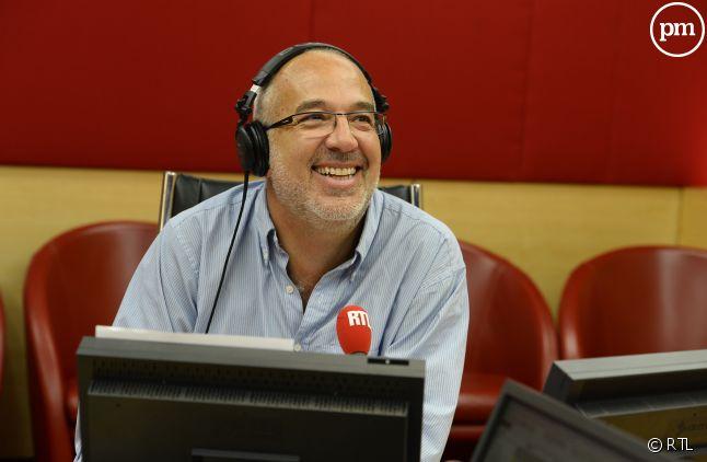 Bernard Poirette, à la tête des matinales du week-end sur RTL.
