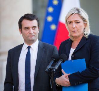 Marine Le Pen et Florian Philippot