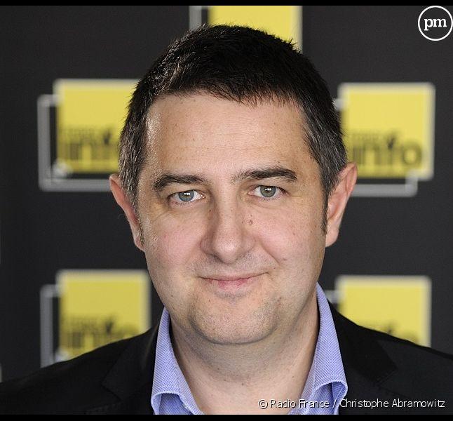 Laurent Guimier, le patron de France Info