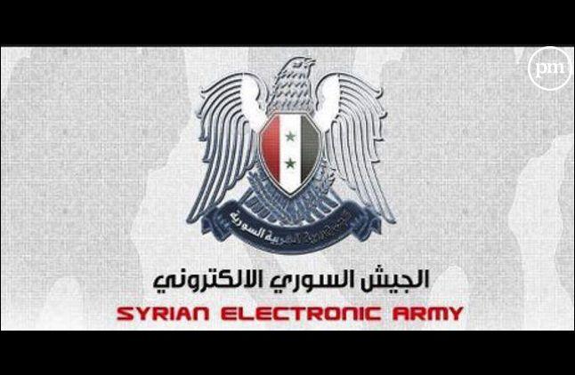 Le logo de l'Armée électronique Syrienne