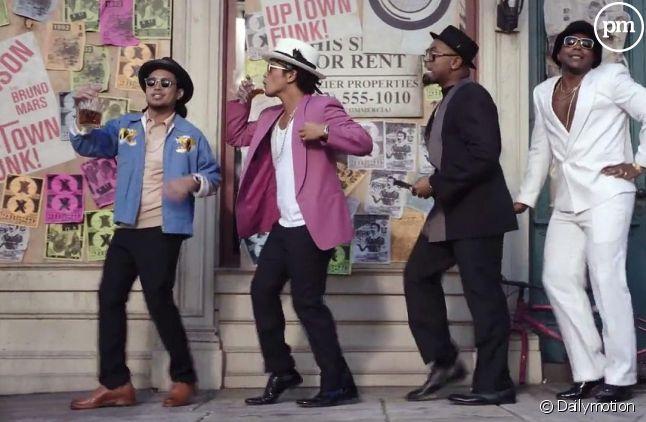 """Le clip """"Uptown Funk"""" de Mark Ronson et Bruno Mars"""