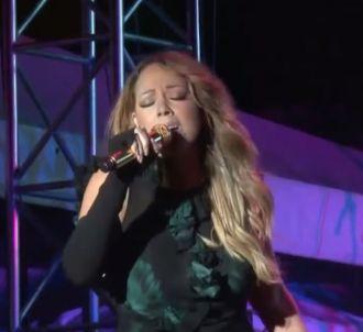 Mariah Carey peine en live sur 'Fantasy'