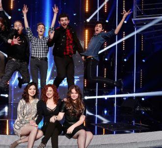 Les huit candidats encore en course de 'Nouvelle Star' 2015