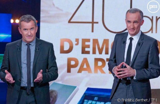 """Gilles Bouleau et Christophe Dechavanne présentent """"TF1 : 40 ans d'émotions partagées"""""""