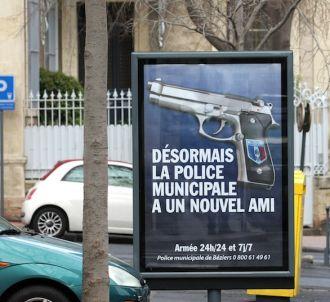 La pub choc de la police municipale de Béziers