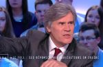 """Le Grand Journal"" : Stéphane Le Foll agacé par une question d'Augustin Trapenard"