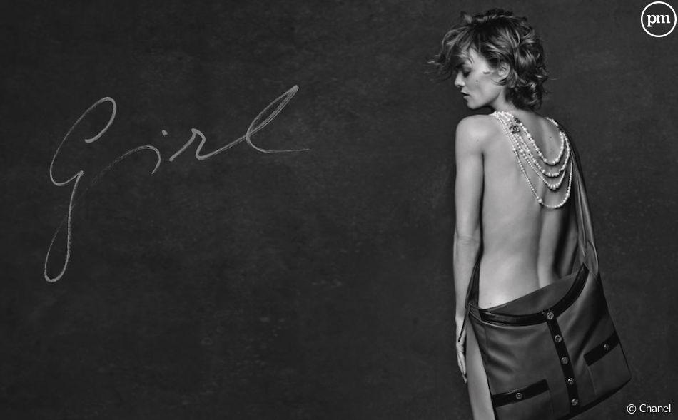 Vanessa Paradis se déshabille pour Chanel
