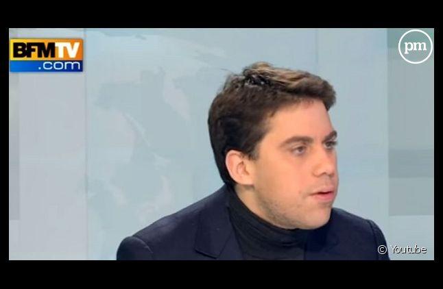 Patrick Klugman en novembre 2012 sur BFMTV (Capture)