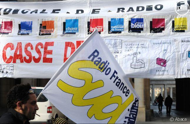 <p>Radio France, en grève depuis le<span> jeudi 19 </span><span>mars.</span></p>