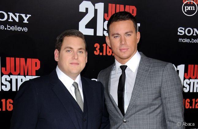 """Jonah Hill et Channing Tatum à l'avant-première de """"21 Jump Street"""""""