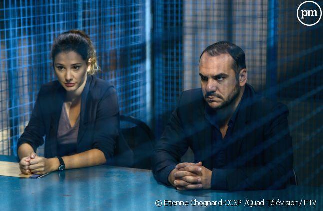 """Alice Pol et François-Xavier Demaison dans """"Disparue"""""""