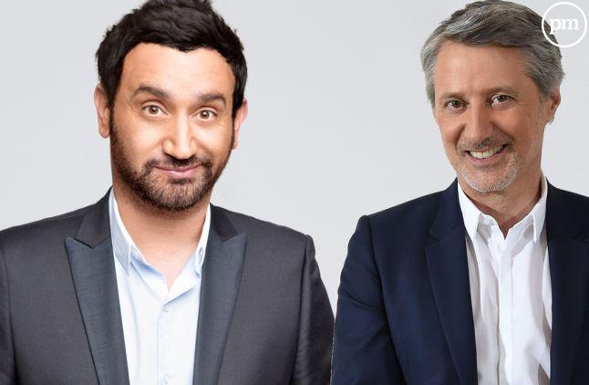 Cyril Hanouna et Antoine de Caunes, bientot collègues de bureau ?