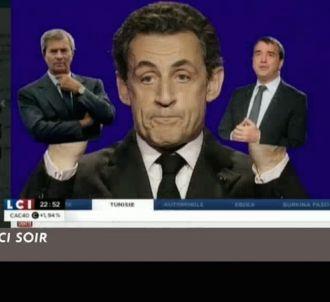 'Le Zapping' voit Nicolas Sarkozy dans l'arrêt des...