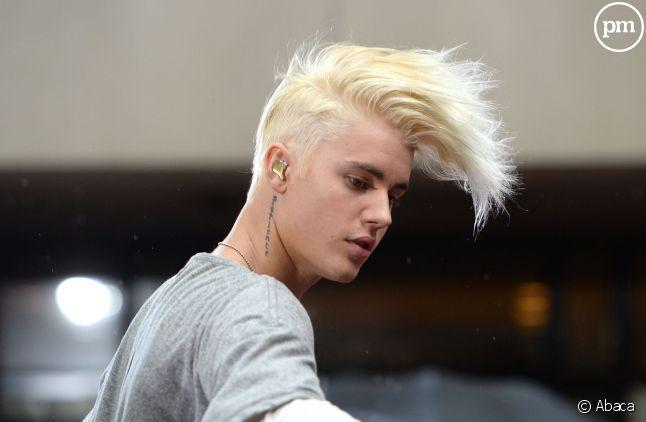 Une promo très rock pour Justin Bieber.