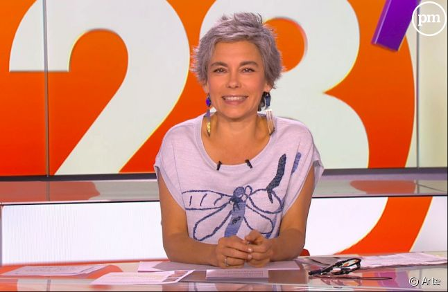 Elisabeth Quin, journaliste sur Arte.
