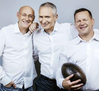 Christian Jeanpierre, Bernard Laporte et Christian...