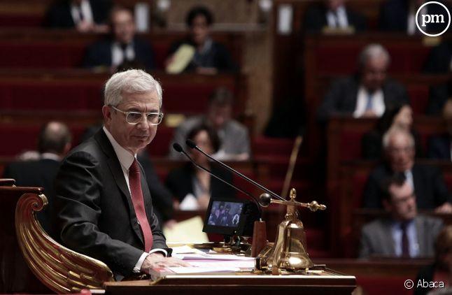 Claude Bartolone, le président de l'Assemblée nationale