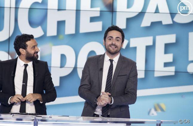 """Cyril Hanouna et Camille Combal dans """"Touche pas à mon poste"""""""