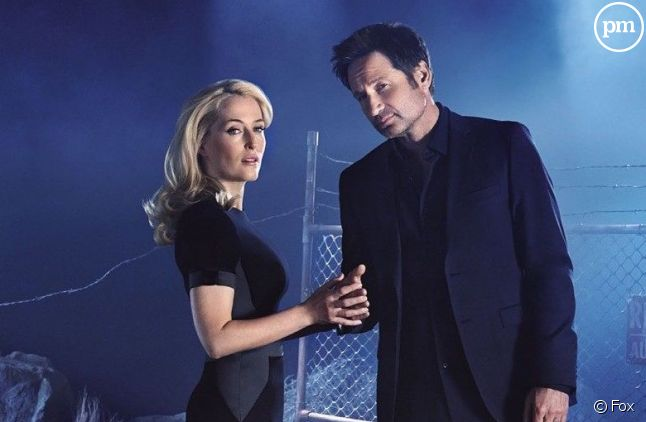Gillian Anderson et David Duchovny