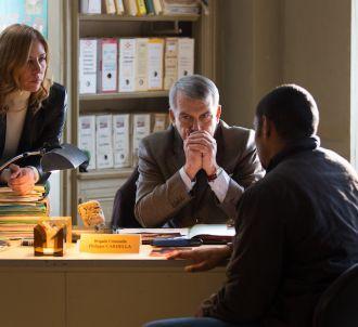 Philippe Torreton et Mathilde Seigner dans 'Un Flic tout...