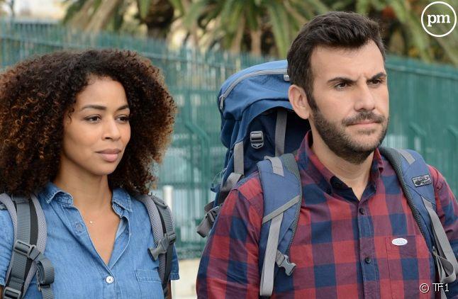 Aurélie Konaté et Laurent Ournac