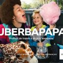Uberapapa : Première campagne de publicité d'Uber