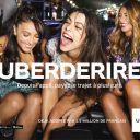 Uberderire : Première campagne de publicité d'Uber