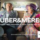 Uber&mère : Première campagne de publicité d'Uber