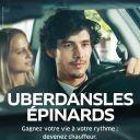 Uberdanslesépinards : Première campagne de publicité d'Uber