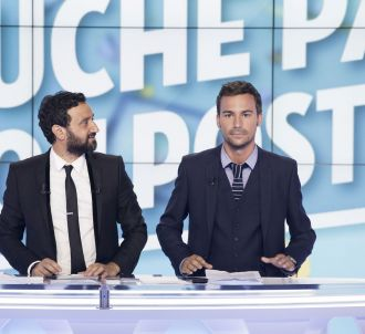 Cyril Hanouna et Bertrand Chameroy.