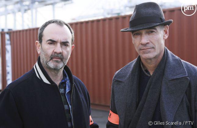 """<div class=""""desc impair"""">Jean-Marc Barr et Bruno Solo dans """"Deux flics sur les docks""""</div>"""
