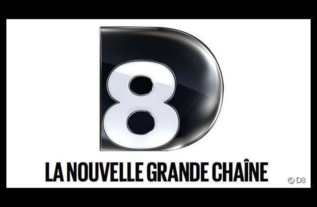 Logo et slogan de D8