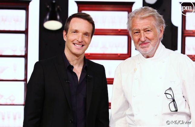 """Stéphane Rotenberg et Pierre Gagnaire dans """"Top Chef"""" 2016"""