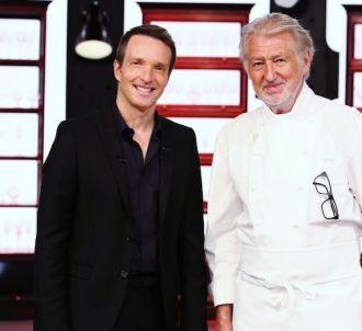 Stéphane Rotenberg et Pierre Gagnaire dans 'Top Chef' 2016