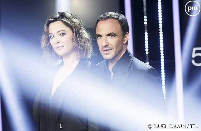 Sandrine Quétier et Nikos Aliagas