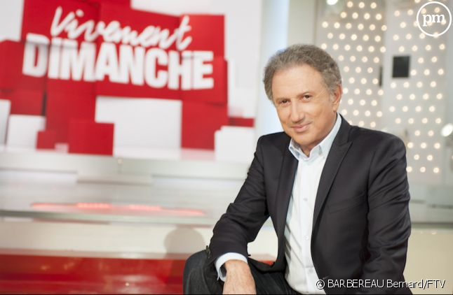 "Michel Drucker dans ""Vivement dimanche"""