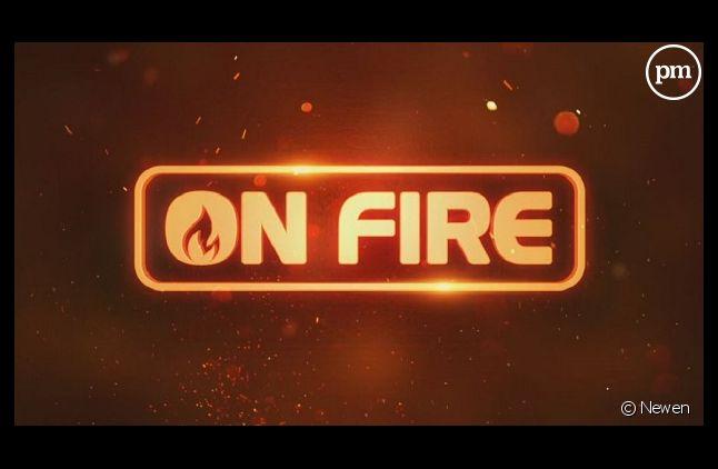 """On Fire"", logo (Capture)"