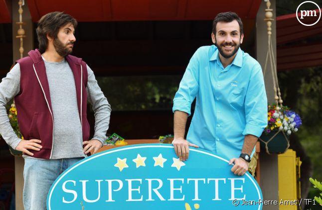 """""""Camping Paradis"""" avec deux Laurent Ournac pour le prix d'un"""