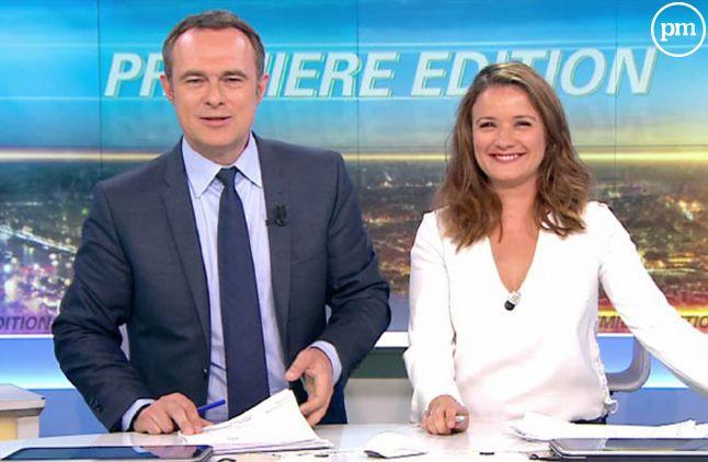 392.000 téléspectateurs en moyenne devant la matinale de BFMTV.