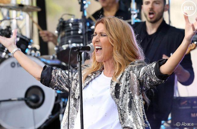 Céline Dion toujours en tête des ventes d'albums