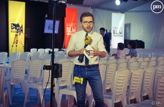 Julien Arnaud, reporter politique.